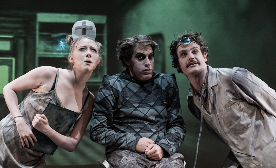 Robert Caligari (centre) at the doctor's (© Peter Marsh / Darkling Images)