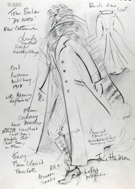 June's design for Tom in his last season
