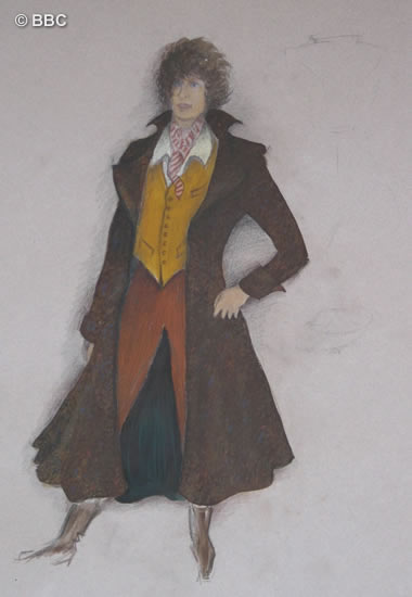 One of Juneu0027s first ideas for Tomu0027s  new look  ... & Costume Design u2013 Tom Baker Official