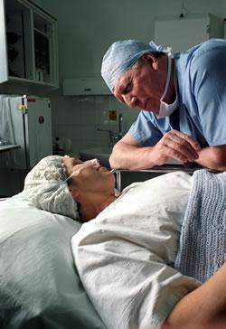 "Tom as Professor Geoffrey Hoyt in ""Medics"" made by Granada Television"