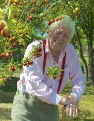 Tom under plum tree small