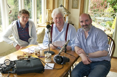 David Richardson, me and Nicholas Briggs. Picture © Sue Jerrard