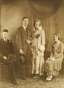 Tom's parents' 1932 wedding