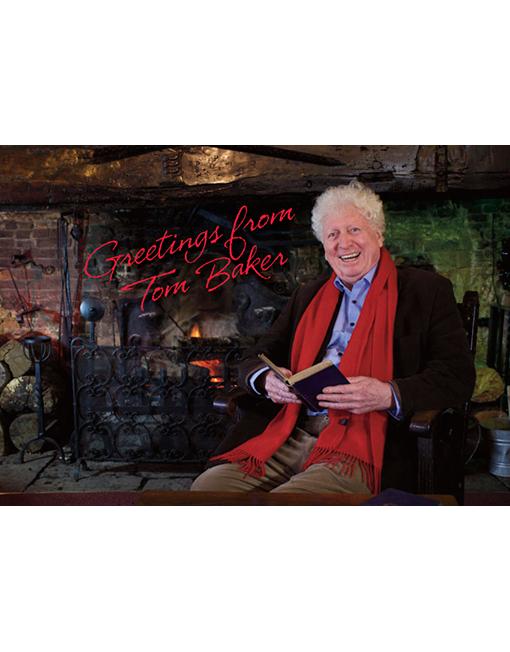 Tom Baker Christmas Greeting 2021 Sue Jerrard Tom Baker Official