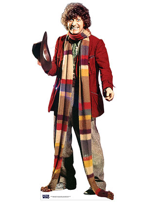 Life size cardboard cutout of The 4th Doctor Tom Baker  sc 1 st  Tom Baker : the 4th doctor costume  - Germanpascual.Com