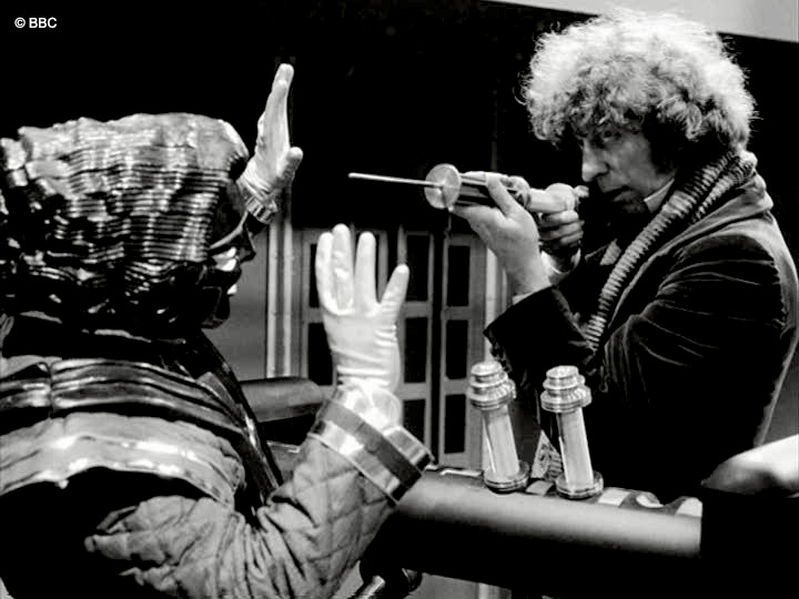 MARK BLACKWELL BAKER The Robots of Death Signed Photo Doctor Who Autograph